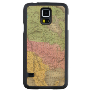North America 11 Carved Maple Galaxy S5 Case