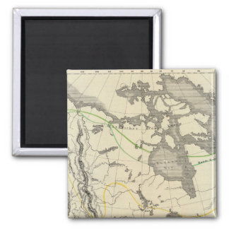 North America 11 Magnet