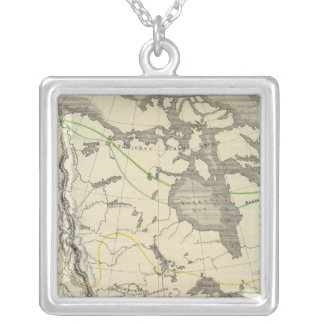 North America 11 Silver Plated Necklace