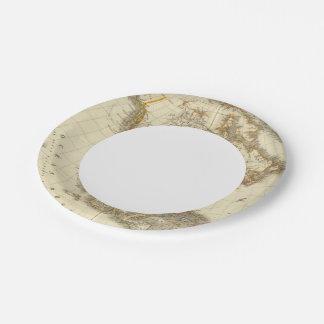 North America 13 Paper Plate