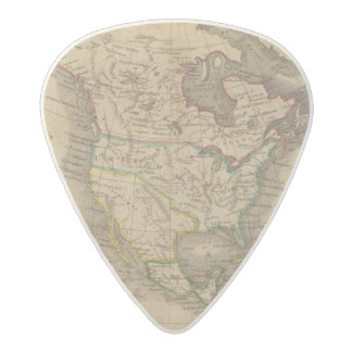North America 14 Acetal Guitar Pick