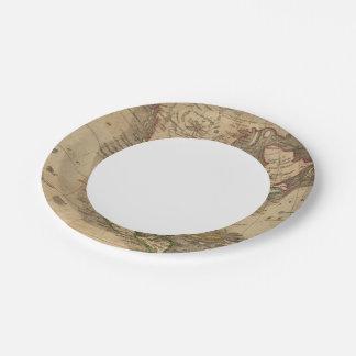 North America 14 Paper Plate