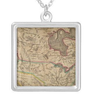 North America 14 Silver Plated Necklace