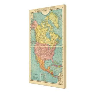 North America 15 Canvas Print