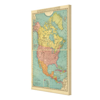 North America 15 Canvas Print