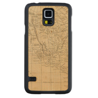 North America 15 Carved Maple Galaxy S5 Case