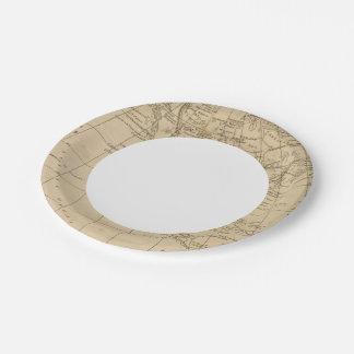North America 15 Paper Plate