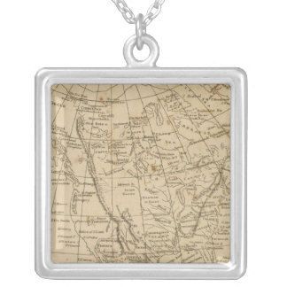 North America 15 Silver Plated Necklace