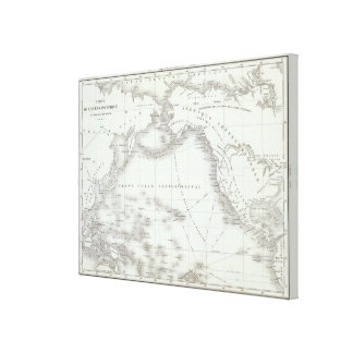 North America 16 Gallery Wrapped Canvas