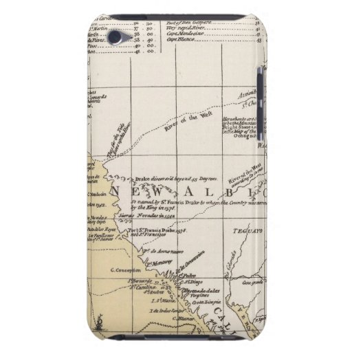 North America, 1782 iPod Touch Case