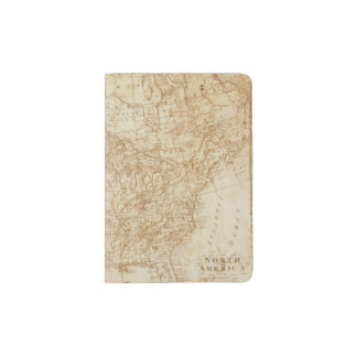 North America 1804 Passport Holder