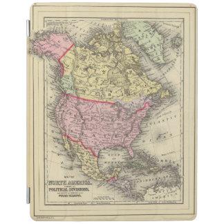North America 18 iPad Cover