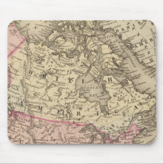 North America 19 Mouse Mat