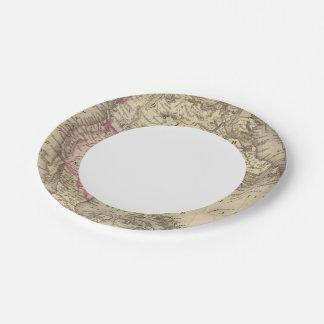 North America 19 Paper Plate