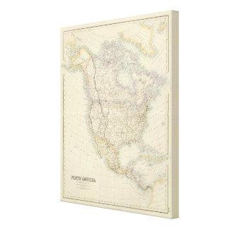 North America 20 Canvas Print