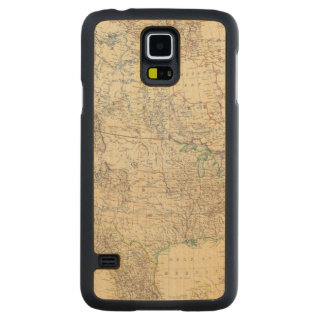 North America 20 Carved Maple Galaxy S5 Case