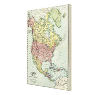 North America 21 Canvas Print