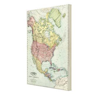 North America 21 Canvas Print