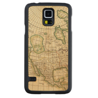 North America 21 Carved Maple Galaxy S5 Case