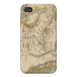 North America 22 iPhone 4 Case