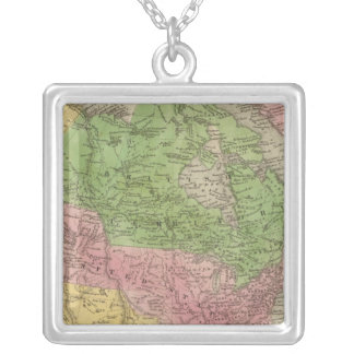 North America 23 Silver Plated Necklace