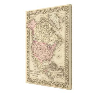 North America 24 Canvas Print