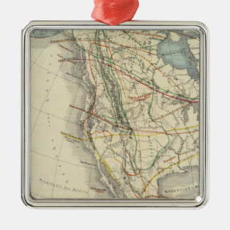 North America 24 Christmas Ornament