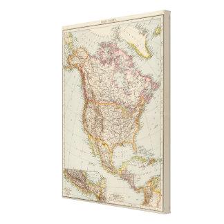 North America 24 Gallery Wrap Canvas