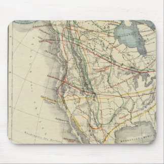 North America 24 Mouse Mat