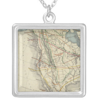 North America 24 Silver Plated Necklace