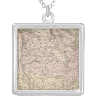 North America 25 Silver Plated Necklace