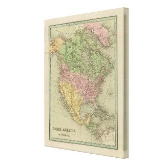 North America 27 Canvas Print