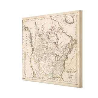 North America 27 Canvas Print