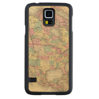 North America 27 Carved Maple Galaxy S5 Case