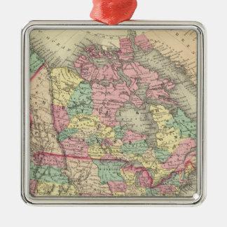 North America 27 Christmas Ornament