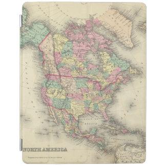 North America 27 iPad Cover