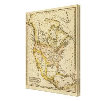 North America 28 Canvas Print