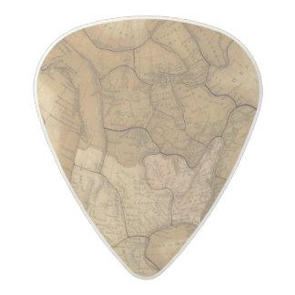 North America 29 Acetal Guitar Pick