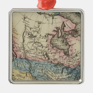 North America 29 Christmas Ornament