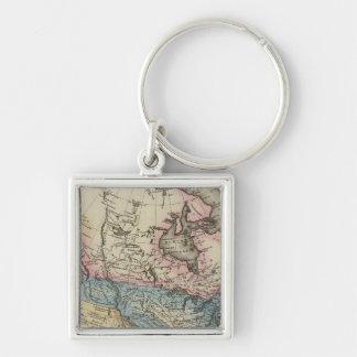 North America 29 Key Ring