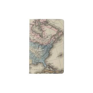 North America 29 Pocket Moleskine Notebook