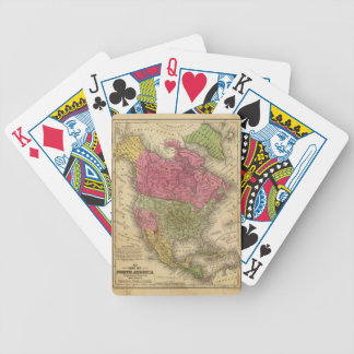 North America. 2 Bicycle Playing Cards