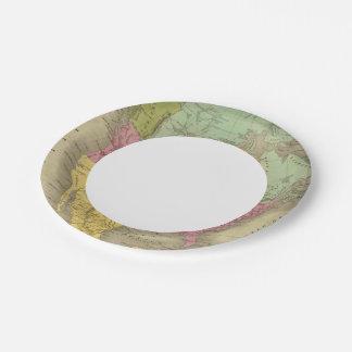 North America 30 Paper Plate