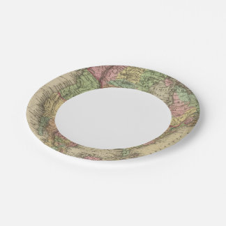 North America 31 Paper Plate