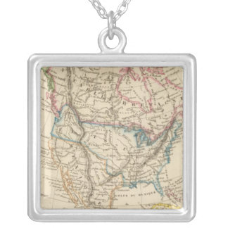 North America 31 Silver Plated Necklace