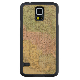 North America 32 Carved Maple Galaxy S5 Case