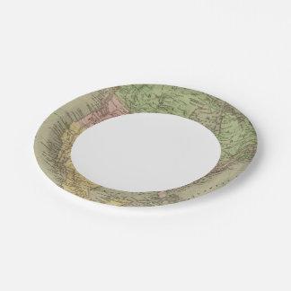 North America 32 Paper Plate