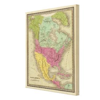 North America 33 Canvas Print