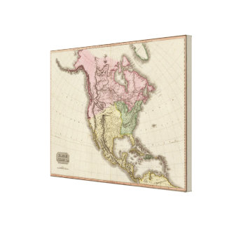 North America 34 Canvas Print