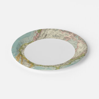 North America 34 Paper Plate